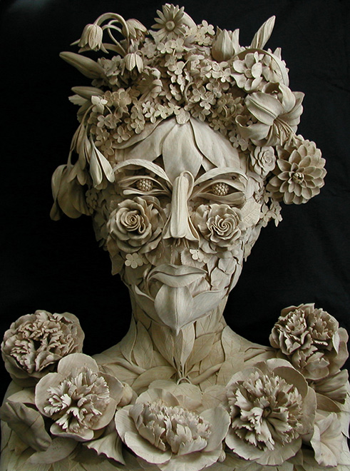 Botanical heads « david esterly